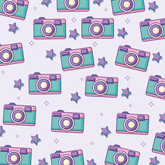 photographic camera background, colorful design. vector illustration