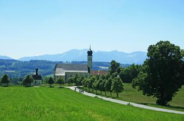 Wallfahrtskirche Wilparting Irschenberg
