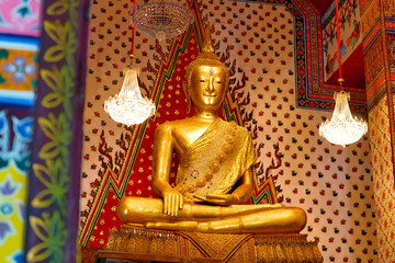 Golden Buddha Statue, At Wat Arun Temple