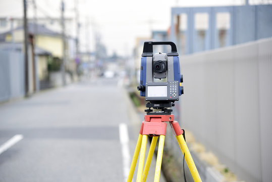 Construction surveying instrument, theodolite