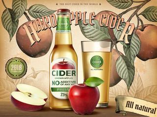 Hard apple cider ads