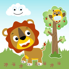 Animals cartoon vector. Eps 10