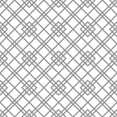 Seamless silver background for your designs. Modern ornament. Geometric abstract pattern
