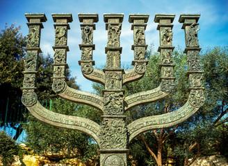 Menorah by Knesset, Jerusalem