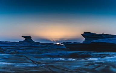 Sunrise and Rock Platform Landscape