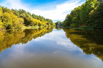 River calm landscape
