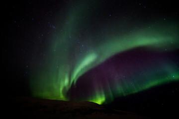 Polarlicht über Norwegen - Aurora borealis