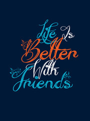 nice and creative abstract, banner or poster for Best Friend Forever or Best Friend Day with nice and beautiful design illustration in a background.