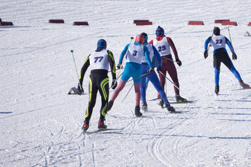 amateur competitions in the discipline of cross-country skiing, under the name of ARBA Ski Fest. A large number of people start simultaneously.