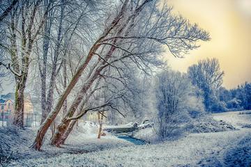Winter auf dem Land