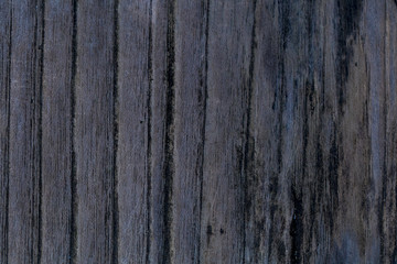 Black wooden background. Blackboard. Grunge texture