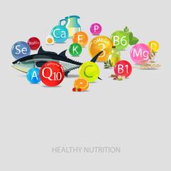 Vitamins, minerals and food