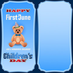 First of June, Children's celebration.