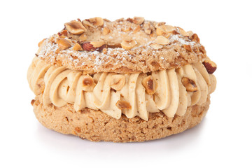 paris-brest french pastry cake concfectioner isolated Fototapete
