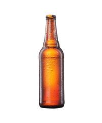 Obraz butelka piwa w ręku - fototapety do salonu