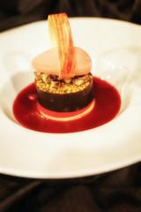 Haute cuisine dessert