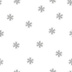 Abstract beauty Christmas and New Year star Seamless Pattern background. Illustration