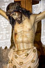 Detalle Cristo de la Expiración, Torrelodones