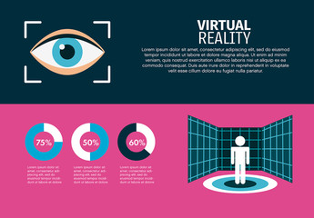 VR Gaming Infographic with Illustrations