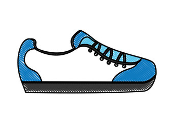 cartoon sneaker sport fashion image