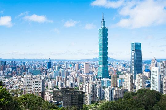 morning taipei city