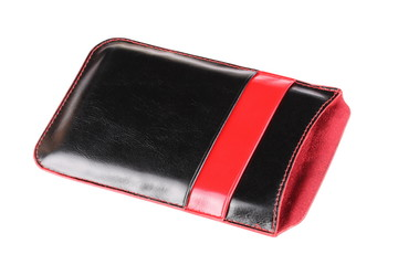 Leather Phone Cover Isolated