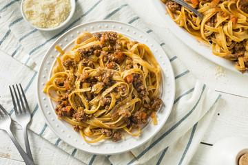 Homemade Italian Ragu Sauce and Pasta