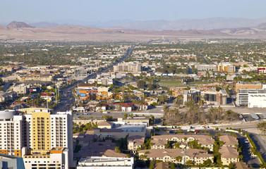 Las Vegas Nevada a residential landscape.