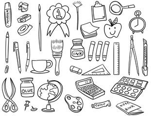 Stationary icon set
