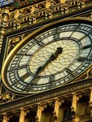 Big Ben london detail of the clock