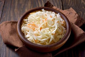 Sauerkraut with carrots