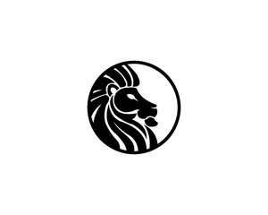 lion animal logo