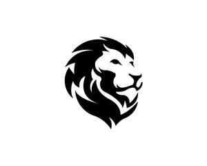 lion animal logo