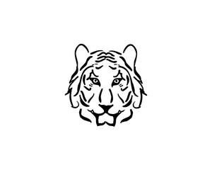 tiger animal logo
