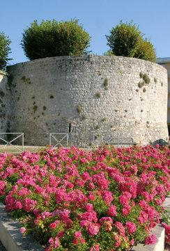 Château-Thierry, ville du département de l'Aisne, Tour des soeurs, France