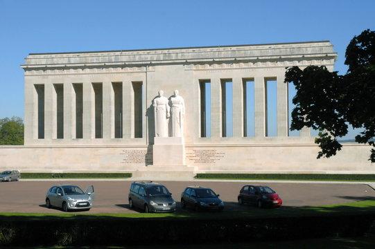 Château-Thierry, ville de l'Aisne, Mémorial américain, France