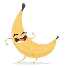 happy banana clipart