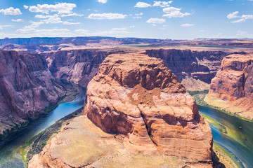 Glenn Canyon and the Colorado River. Horseshoe bend. Arizona Tourist Attractions