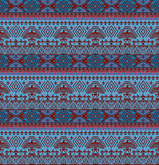 Tribal ethno seamless background