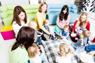 Musical education for preschoolers