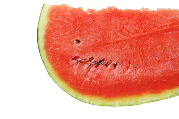 sliced of fresh watermelon