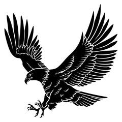 Eagle silhouette 005