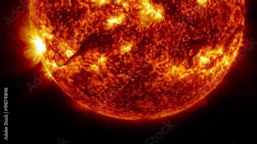nasa sun video - HD1920×1080