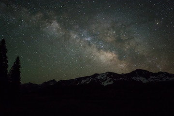 Milky Way Lights Up the Colorado Mountain Sky
