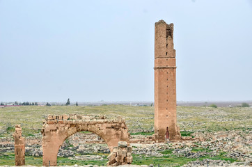 Old Ruins Of Harran University, Sanliurfa, Turkey. It is the place where the first Islamic University is founded.