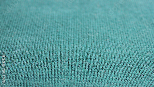turquoise teal texture background knit pattern of sea green sweater