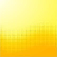 Screentone Graphics_Halftone Gradation_Yellow Dots