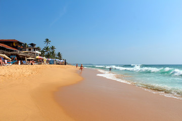 View of Indian Ocean from Sri Lanka