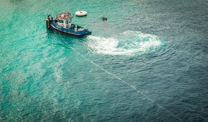 Sailing into Carcaasbaai