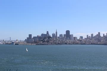 San Francisco harbor skyline